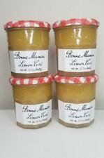 (Lot of 4) Bonne Maman Lemon Curd, 12.7 oz, Case of 4 Glass Jars. Gluten Free