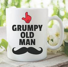 Funny Novelty Mug Grumpy Old Man Moustache Joke Coffee Tea Cup Humour WSDMUG909