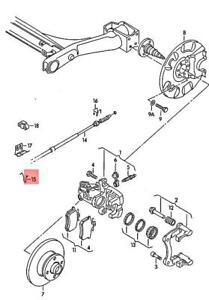 Genuine Volkswagen Bracket Left NOS Corrado Golf Jetta Passat 1E0609745