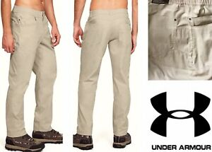 New UNDER ARMOUR Stretch Waistband Pants Men 38x32 Payload Straight Fit $80 NWT