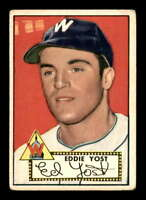 1952 Topps #123 Eddie Yost  VGEX X1390155