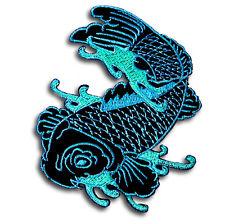 Japanese Koi Fancy Carp Fish  Patch Embroidered Iron on Sewing Tattoo Goldfish B