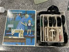 Vintage Singer Accessories Box Touch and Sew Model 648 Zig Zag Sewing Machine