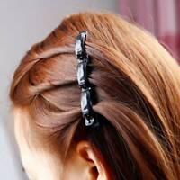 Fashion Women Double Hair Pin Clips Barrette Comb Hairpin Hairband