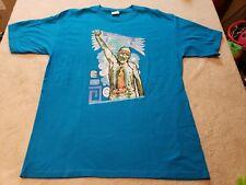 Raul R Salinas T Shirt Poetry Austin Texas size large indio trails jail machine