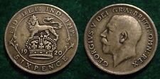 1920 SILVER 6 PENCE GREAT BRITAIN**NICE DETAILS**