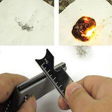 Magnesium Block Flint Fire Starter Firestarter Lighter Survival Army Striker