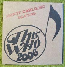 The Who-Monte Carlo2006-BootlegLive -2CDs - Townshend - Daltrey