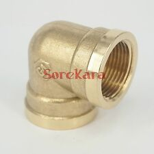 "Brass ELbow Pipe fitting Connector 1/2"" BSP Female to 1/2"" BSP Female"