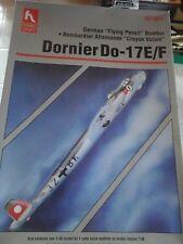 LOT OF TWO KITS DORNIER DO 17E/F & DORNIER DO 17 Z N.2KIT 1/48HOBBY CRAFT MODEL