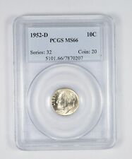 Buy 3 Get $5 Off! 1960 Roosevelt Dime NGC MS-66 FT x2294
