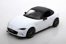 Triple 9 2015 Mazda MX-5 with Removable Softtop White 1:18*New Item*Rare!