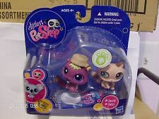Littlest Pet Shop Beaver & Racoon #1409 & 1410 New in Box