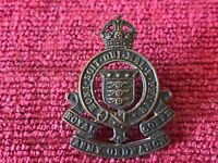 WW2 Royal Army Ordnance Corps RAOC Officers Collar Badge Genuine  Army C/15