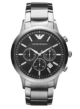 Orologio EMPORIO ARMANI da Uomo AR2434 Classic Cronografo Acciaio Watch Uhr