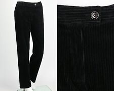 "CLAUDIE PIERLOT ""PERCHERON"" BLACK CORDUROY PANTS SLACKS SZ S"