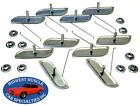 Ford 1-2 14 Body Fender Door Quarter Trim Moulding Molding Clips Nuts 10pcs E