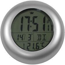 Funkuhr Wanduhr Badezimmer Saugnapf Badezimmeruhr Uhrzeit Temperatur Datum