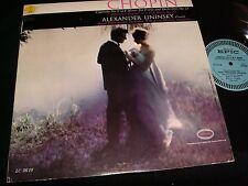 CHOPIN ° CONCERTO NO.2<>ALEXANDER UNISKY<>Lp Vinyl~Canada Pressing<>EPIC LC 3610