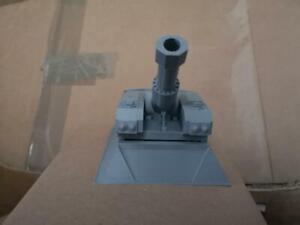 Heavy Howitzer Turret Emplacement                  3D printed 28mm Grimdark  40K