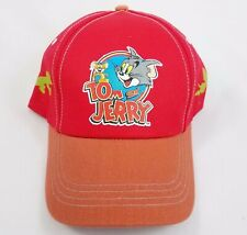 Tom and Jerry Warner Brothers Looney Tunes Baseball Cap Adjustable One Size NWOT