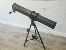 Galileo Newtonian Reflector Telescope Fs-120 stand and lenses included