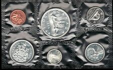 1966 Uncirculated Canada Proof Like Silver Set ~  Superfleas
