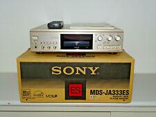 Sony MDS-JA333ES High-End MiniDisc Recorder Champagner OVP, FB&BDA, 22.Garantie