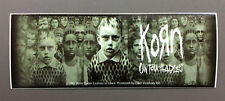 KORN Untouchables Logo Sticker NEW OFFICIAL MERCHANDISE RARE Heavy Metal
