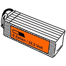 JuBaTec LiPo Akku 6S mit 22,2 Volt und verschiedenen Kapazitäten und C-Raten