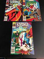 Lot Of 3 Marvel Comics Dr. Strange # 31 32 33 1st App. NYX NOX Silver Surfer Run
