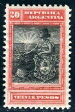 ARGENTINIEN 1899 119 * 20 PESO HÖCHSTWERT 240€(D9737