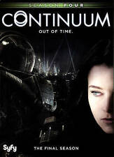 Continuum: Season Four (DVD, 2016, 2-Disc Set)
