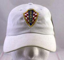 Ban Distribution Group BDG White Adjustable Baseball Cap Caps Hat Hats