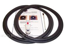 "2 JBL 15"" Narrow Speaker Foam Surround Repair Kit - Skinny Roll - 2LE15"