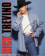 Rick Trevino 8 x 10 Autograph Reprint