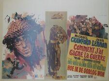 """""""COMMENT J'AI GAGNE LA GUERRE (HOW I WON THE WAR)"""" Affiche John LENNON, BEATLES"""