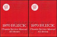 1970 Buick Shop Manual GS Skylark Riviera Lesabre Electra Wildcat Service Repair