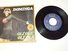 "DOMINGA ""OLI' OLE' OLI' OLA'"" disco 45 giri DECCA Italy 1971 RARO"