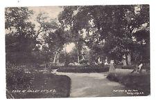 North Dakota postcard Park at Valley City