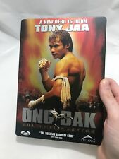 Ong-Bak: The Thai Warrior (DVD, 2005) Steel Book Collector Case - Tony Jaa