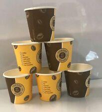 1000 Kaffeebecher Coffee to go mit Deckel Espresso Gold 200 ml PC8-1+72842 var