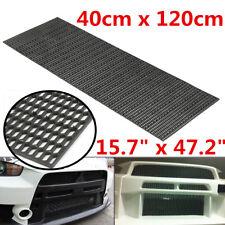 Universal ABS Plastic Racing Honeycomb Mesh Grill Spoiler Bumper Vent 40x120cm