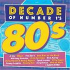 DECADE OF NUMBER 1s THE 80s VARIOUS ARTISTS 2 CD NEW