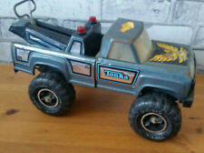 TONKA VINTAGE MONSTER TOW TRUCK WRECKER 11062 TIN PLATE TOY CAR VEHICLE 80s