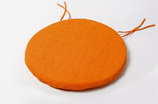 NEW ROUND Chair Cushions BISTRO Circular SEAT PADS Kitchen REMOVABLE COVER