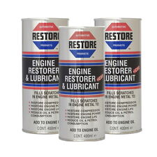 Restore Tired High-Mileage Engines - Try AMETECH ENGINE RESTORE OIL 3/400ml CANS