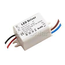 New 6W Wattage LED Driver Transformer DC 12V 500mA For 12V LED Bulbs MR16 / MR11