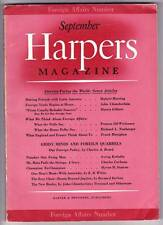 September 1939 HARPERS MAGAZINE - 4 page article on Science Fiction