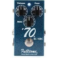 Fulltone USA 70 Fuzz Guitar Effect Pedal - Brand New